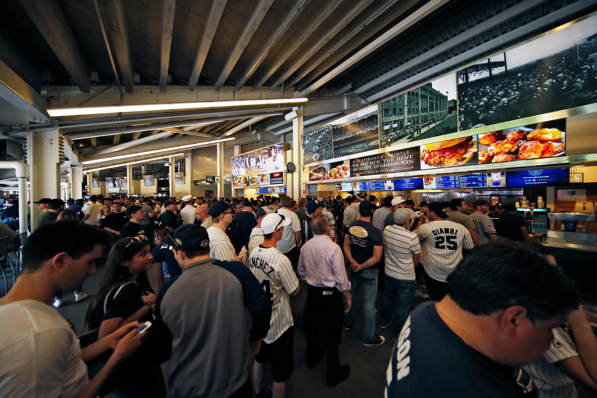 Yankee Stadium Unveils New Food Options
