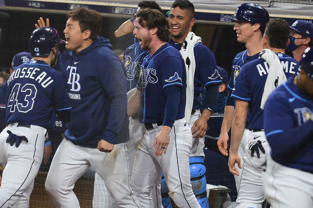 AL East baseball Tampa Bay Rays