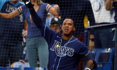 Wander Franco AL East MLB Tampa Bay Rays