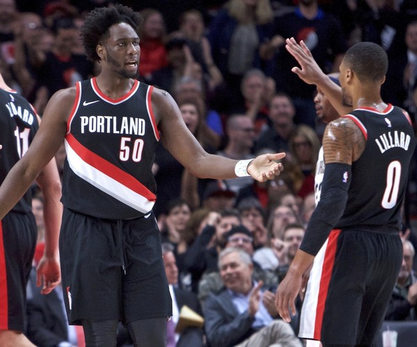 TRAIL BLAZERS TO PLAY BOSTON AND TORONTO ON NATIONAL TV ON