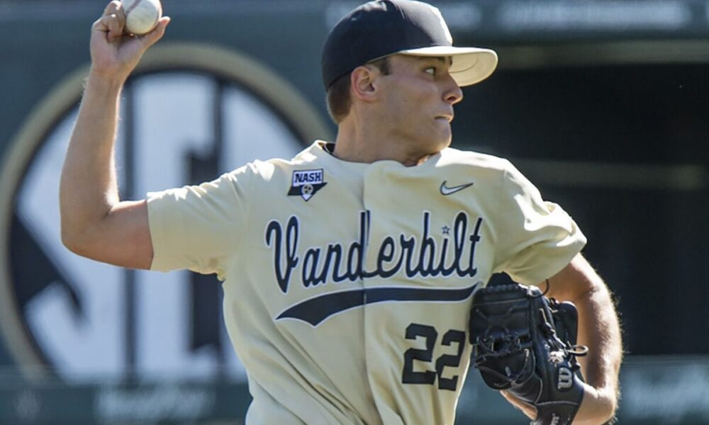 College Baseball World Series Jack Leiter