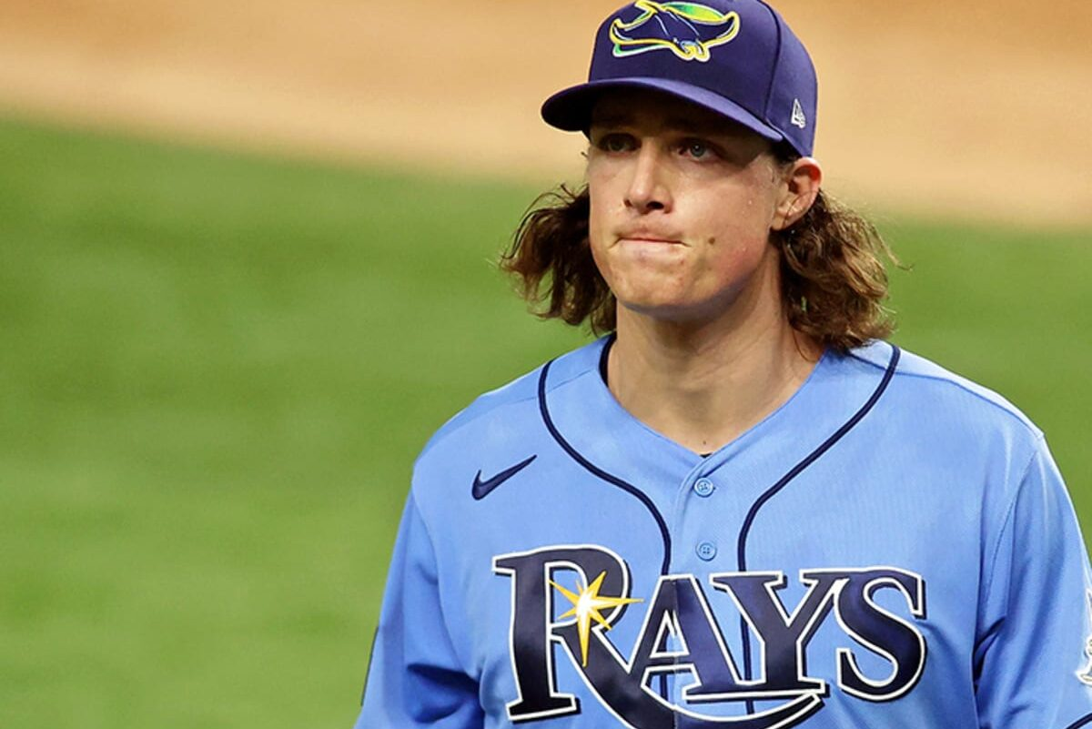 Tyler Glasnow MLB Tampa Bay Rays