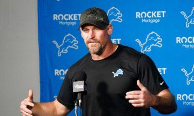 Lions Head Coach Dan Campbell